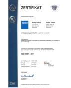 zertifikat - ISO 50001_2011