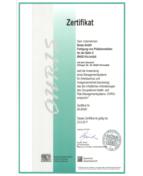 zertifikat - OHRIS